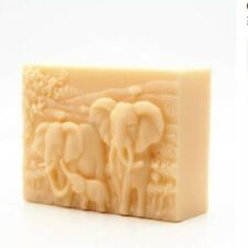 Elephant And Calf Baby Mould Silicone Soap Candle Choc Craft Handmade Mold UK