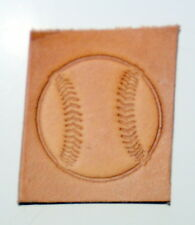 BASEBALL Leather Tooling Embossing / Clicker Stamp, Delrin, NEW #107