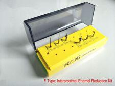 1 Set dental clinic diamond bur kit Dental interproximal enamel reduction kit