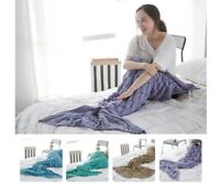 Crochet Mermaid Tail Blanket Teen Adult Size Premium High Quality Handmade