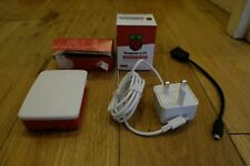 Raspberry Pi 4 Model B with 4GB RAM  Full UK Starter Kit keyboard PSU etc.