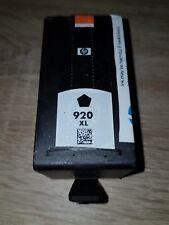 CARTOUCHE JET D ENCRE HP 920 XL NOIR BLACK Hp920xl Neuve