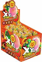 40x CHUPA CHUPS XXL Trio Large Lollipops with Bubble Gum Center