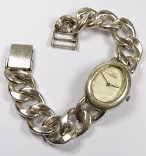 """Massive Silber Armbanduhr -800- """"Leblin"""",Werk steht,L-21cm, b-16,8mm, 92,3gr."""