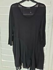Cha Cha Vente, black shirt Size X-large, new with tags