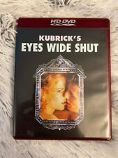 Eyes Wide Shut Unrated Edition (Hd Dvd, 2007) Tom Cruise Stanley Kubrick Rare
