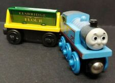 2003 Flour Covered Thomas & Elsbridge Flour Car THOMAS THE TRAIN Wooden Learning