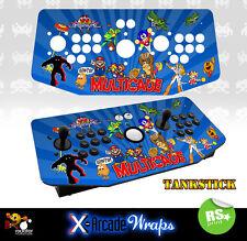 Multi Game v2  X Arcade Tankstick Overlay Graphic Sticker