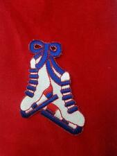 Ice figure skate skating blade Towel new red Free Shipping skater patriotic