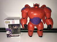 "Disney Big Hero 6 11"" Electronic Armoured Baymax & Hiro Hamada Funko Pop Figure"