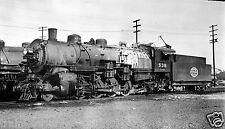 Spokane Portland & Seattle (SP&S) Steam #538 Black & White Print.
