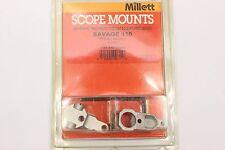 Millett Scope Mounts 1pc Base for Winchester Model 70 SARH WB70001