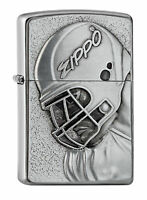 Zippo Football Emblem 2005332 Spring 2017 Neu+OVP