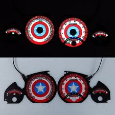 《BAR Autotech》 CAPTAIN AMERICA Face Tach EL Glow Gauge for BMW E46 M3 98-05 KMH
