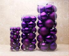 24PCS/ Lot Christmas Tree Decor 3cm Ball Bauble Hanging Xmas Party Ornament