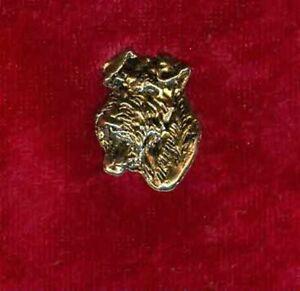 Pin/ Anstecker vergoldet Hunde Irish Terrier [p040]