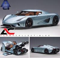 AUTOART 79028 1:18 KOENIGSEGG REGERA (HORIZON BLUE) SUPERCAR