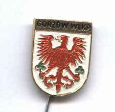 Gorzów Wlkp (Landsberg an der Warthe) Polish City Coat of Arms pin badge POLAND