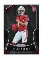 2019 Panini prizm football #301 Kyler Murray rookie card Arizona Cardinals RC B