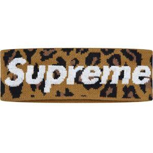 Supreme FW18 New Era Big Logo Headband in Leopard One Size (ORDER CONFIRMED)