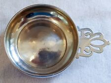 Sterling Silver Porringer 3.1 oz. No Monogram