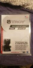 Troy Industries FBSR0BT00 Rear Folding Battle Sight - Black