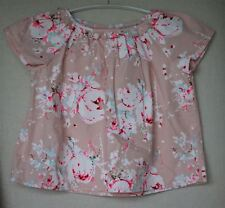BONPOINT Filles Rose Floral engie chemisier top 4 ans