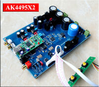 Assembeld Dual AK4495 AK4495EQ In Parallel DAC board + XMOS USB card   L17-40