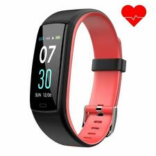 Dwfit fitness bracelet with heart rate monitor,waterproof blood pressure monitor