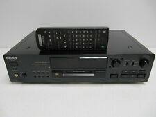 Sony Mds-Jb920 MiniDisc recorder & player works w remote Clean