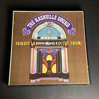 Vintage 6 Vinyl Record Set~The Nashville Sound~Bright Lights & Country Music