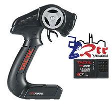Emisora Rc Tactic 3 Canales TTX300 2.4 GHZ Largo Alcance Con Receptor Incluido