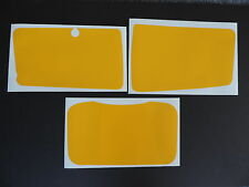 1983-1984 Honda XR 350 Number Plate Decal Kit AHRMA