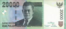 Indonesia/Indonesia 20000 rupie 2005-2009 PICK 144 UNC