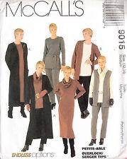 Stretch Wardrobe Cowl Dress Tunic Top Vest Pants Cardigan 12-14 Sewing Pattern