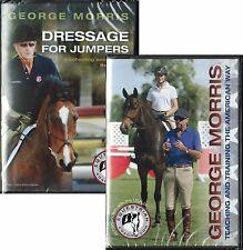 George Morris 2 DVD Set - Horse Training & Jumping