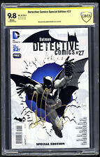 Detective Comics Special Edition #27 CBCS 9.8 SS Aaron Eckhart Two Face NM+/M