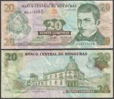 Honduras, 20 Lempiras, 2006, VF+, P-93