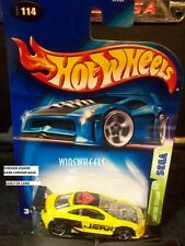 HOT WHEELS 2003 #114 -1 CUSTOM COUGAR YELLO CHRM ENGN MAL E04 CA