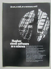 1/1980 PUB HUGHES AIRCRAFT SOFTWARE ENGINEERING COMBAT GRANDE DEFENSE RADAR AD