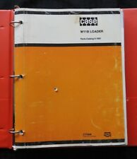 1985 CASE W11B WHEEL LOADER TRACTOR PARTS MANUAL CATALOG CLEAN W/BINDER