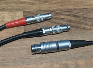 Cmotion RAR-8 AATON XTR XTera Run and supply Y-cable- 0.8M-C019-KE8-Lemo Scher