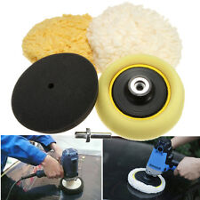 3'' Buffing Pad Car Polishing Wheel Polisher Backing Plate + M14 Drill Adapter