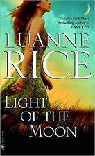 LIGHT OF THE MOON BY LUANNE RICE IN SOFT COVER - GOOD CONDITION
