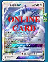 Lugia GX RA Lost Thunder  Digital Card Pokemon TCG ONLINE PTCGO SENT FAST!!
