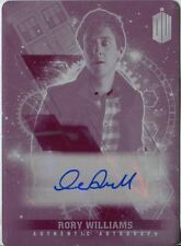 Doctor Who Timeless Printing Plate Autograph Card Arthur Darvill