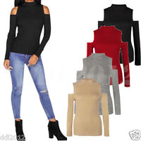 Autumn Women Casual Long Sleeve Knitted Pullover Sweater Slim Jumper Blouse Tops