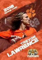 TREVOR LAWRENCE 2018 ROOKIE GEMS LIMITED EDITION ROOKIE CARD CLEMSON TIGERS!