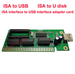 ISA to USB ISA to U disk ISA interface to USB interface adapter card 1Pc