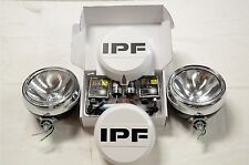 IPF 900 ROUND HID 55W SPOT DRIVING LIGHT KIT + FREE CLEAR COVERS BRAND NEW